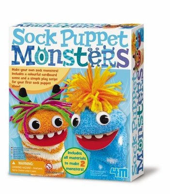 4M - Sock Puppet Monsters