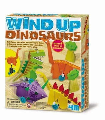 4M - Wind Up Dinosaurs