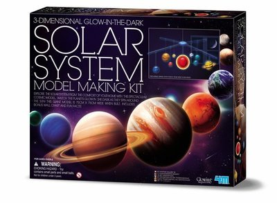 4M - 3D Solar System Model Making Kit