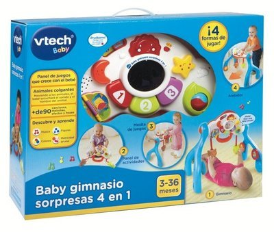 vTech - Baby gimnasio sorpresas 4 en 1