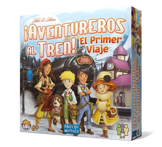 Days of Wonder - ¡Aventureros al Tren! El Primer Viaje