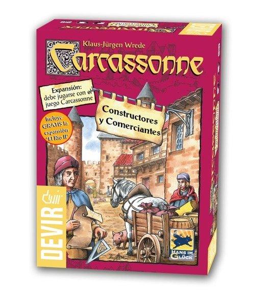 Devir - Carcassonne:  Constructores y Comerciantes