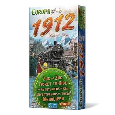 Days of Wonder - ¡Aventureros al Tren! Europa 1912