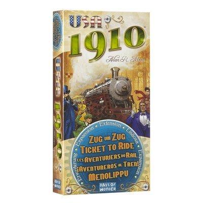Days of Wonder - ¡Aventureros al Tren! USA 1910