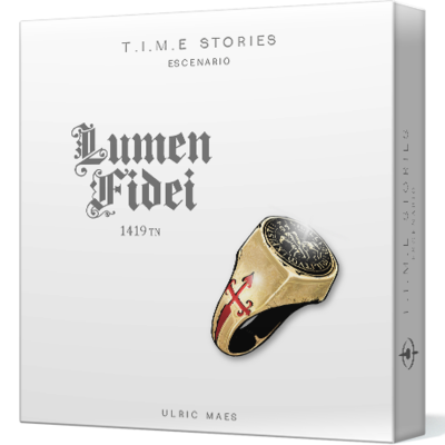 Space Cowboys - T.I.M.E. Stories escenario 6: Lumen Fidei