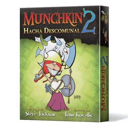 Steve Jackson Games -  Munchkin 2: Hacha Descomunal