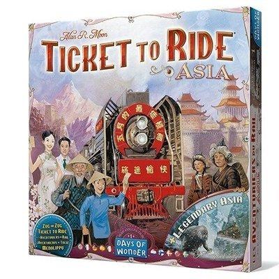 Days of Wonder - ¡Aventureros al Tren! Asia