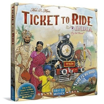 Days of Wonder - ¡Aventureros al Tren! India