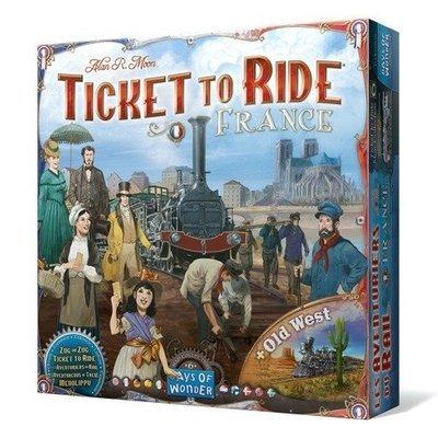Days of Wonder - ¡Aventureros al Tren! Francia (+ El Viejo Oeste)