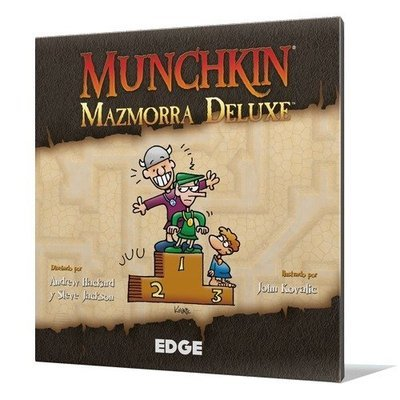 Steve Jackson Games - Munchkin Mazmorra Deluxe