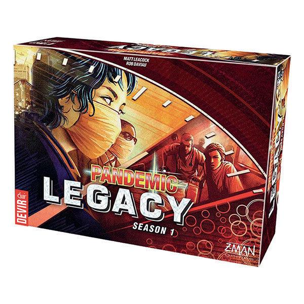 Z-Man Games - Pandemic Legacy 1 Rojo