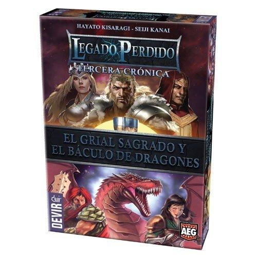Devir - Legado perdido: El grial sagrado y El báculo de dragones
