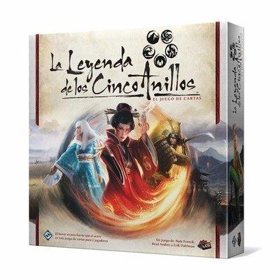 Fantasy Flight - La leyenda de los 5 anillos - El juego de cartas