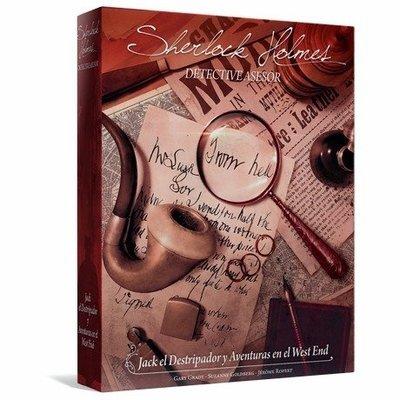 Space Cowboys - Sherlock Holmes Detective Asesor: Jack el Destripador y Aventuras en el West End