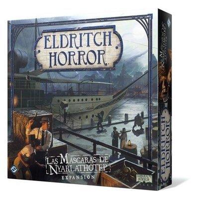 Fantasy Flight - Eldritch Horror: Las máscaras de Nyarlathotep