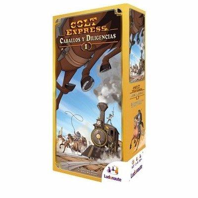 Ludonaute - Colt Express: Caballos y Diligencias