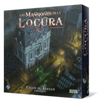 Fantasy Flight - Mansiones de la locura: Calles de Arkham