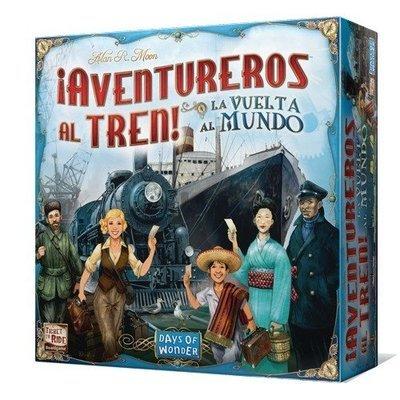Days of Wonder - ¡Aventureros al Tren! La Vuelta al Mundo