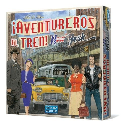 Days of Wonder - ¡Aventureros al Tren! New York