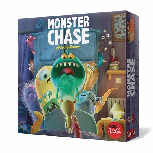 Le Scorpion Masque - Monster Chase
