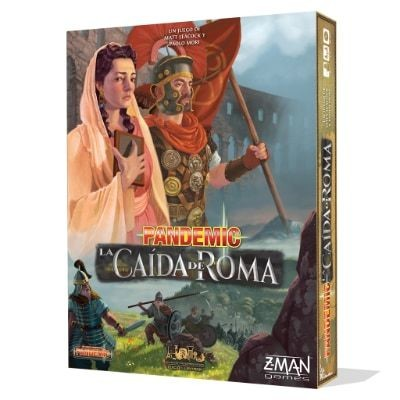 Z-Man Games - Pandemic: la caída de Roma