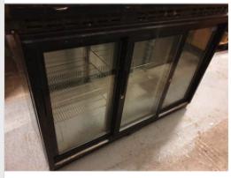 3 sliding glass door Polar bottle cooler