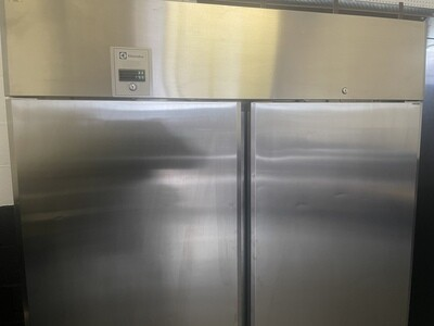 *** B-Grade Stock***. Electrolux 2 door Stainless Freezer 1430Litres