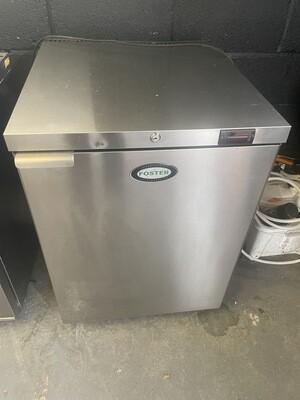 Fosters Under counter 150Litre single door stainless fridge