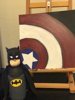 SUPER HERO - THE ART OF A HERO - June 16-18 - 12:00-2:00