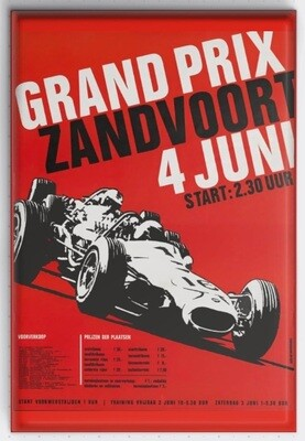 Magneet Grand Prix poster 1967