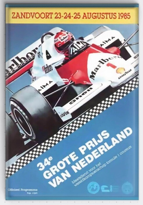 Magneet Grand Prix poster 1985
