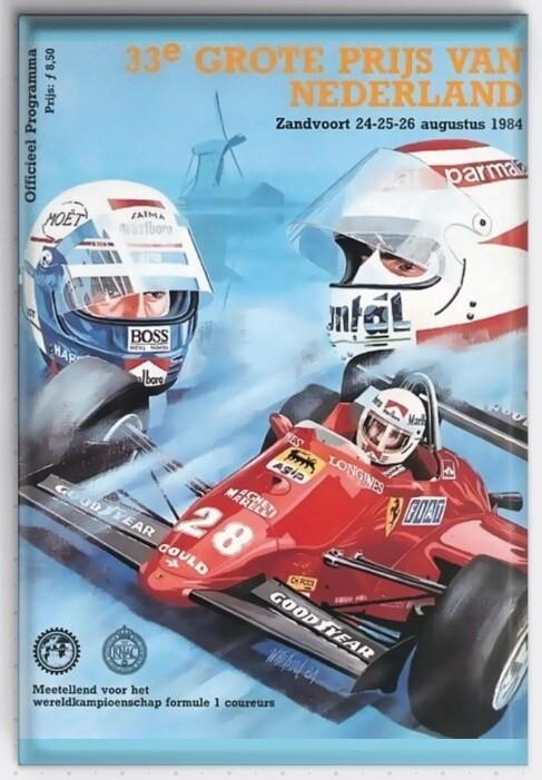 Magneet Grand Prix programma 1984
