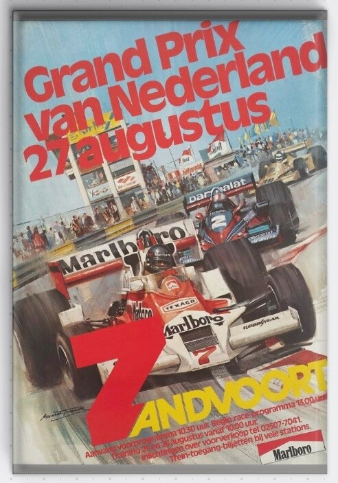 Magneet Grand Prix poster 1978