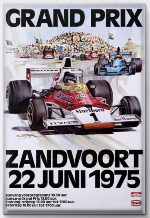 Magneet Grand Prix poster 1975