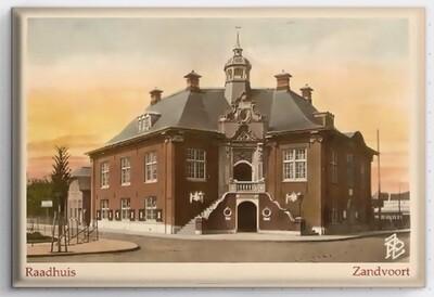 Magneet met het Raadhuis van Zandvoort