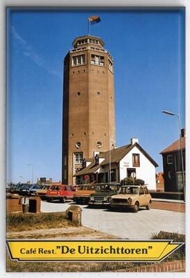 Magneet met de watertoren van Zandvoort