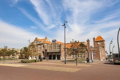 Station Zandvoort - print op paneel