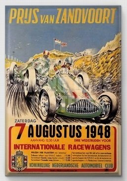 Magneet Grand Prix poster 1948