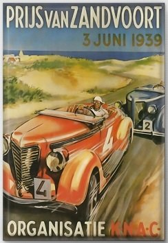 Magneet Grand Prix poster 1939