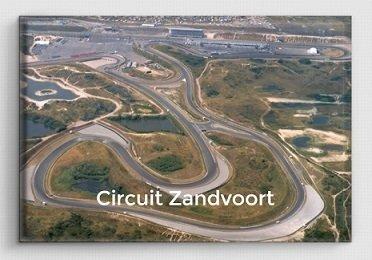 Magneet Luchtfoto Circuit Zandvoort