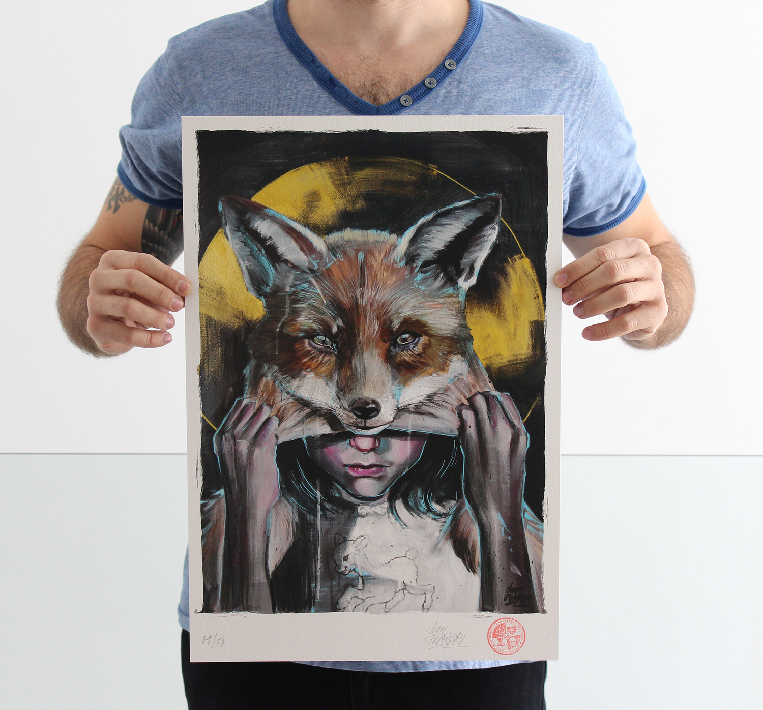 """""""From Lamb to Fox"""" PRINT"""