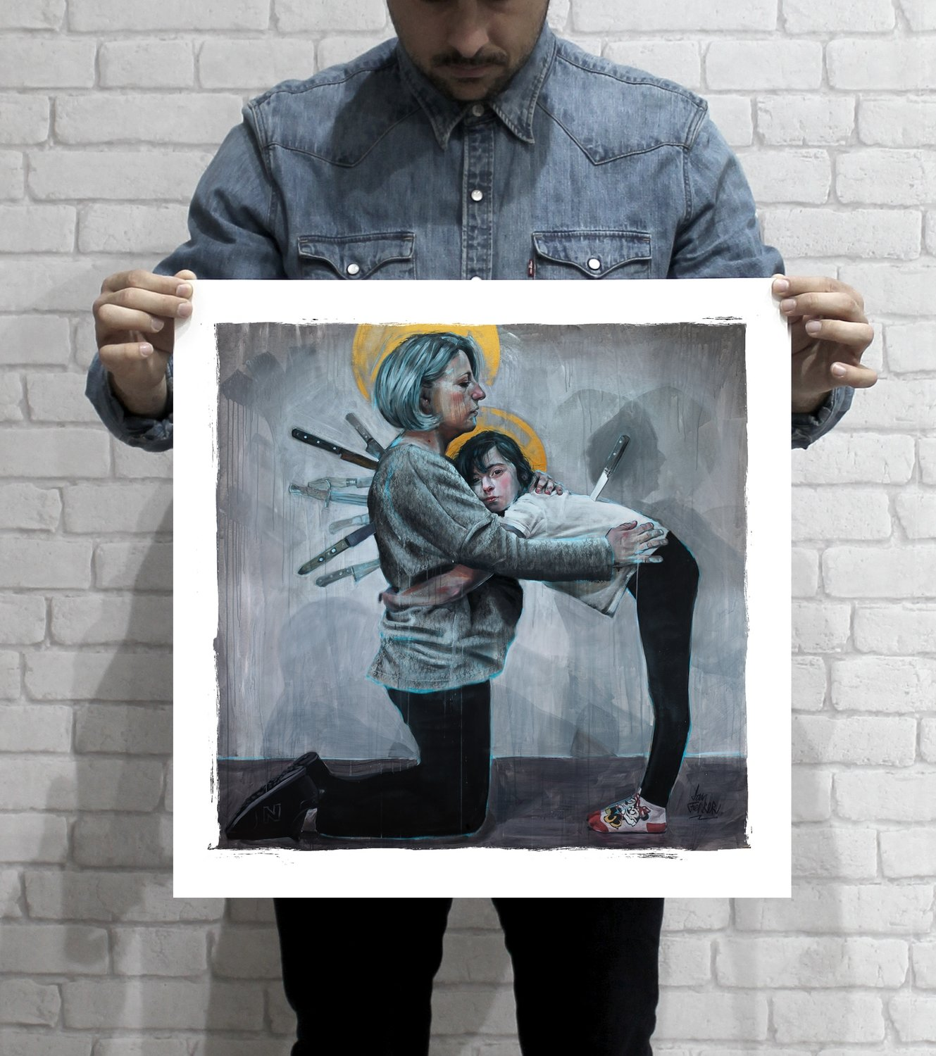 """""""The First Stab"""" 50x50 PRINT"""