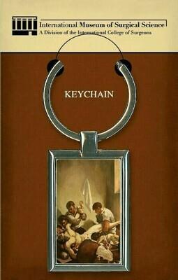 Amputation Painting Keychain
