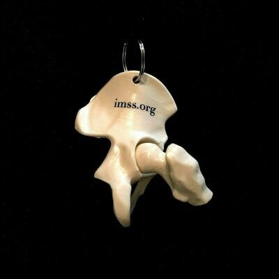 Hip Bone Keychain