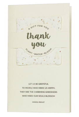 Wildflower Mix - Thank You Card