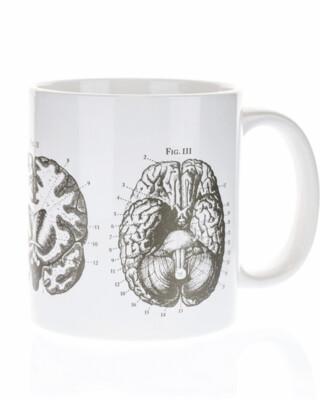 Anatomical Brain Mega Mug