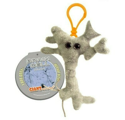 Brain Cell (Neuron) Keychain