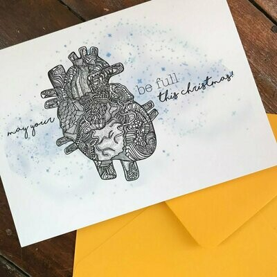 Full Heart Holiday Card