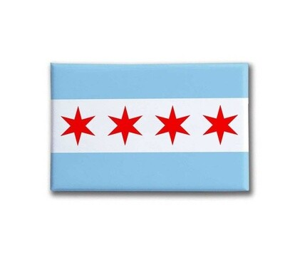 Chicago Flag Magnet