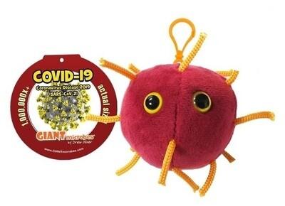 Coronavirus COVID-19 Keychain